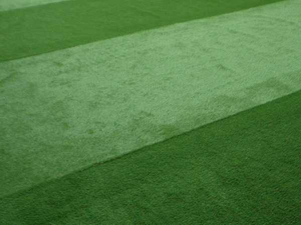 人工芝の配置